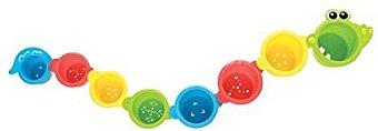 Playgro Vasos apilables, diseño de cocodrilo (0180269)