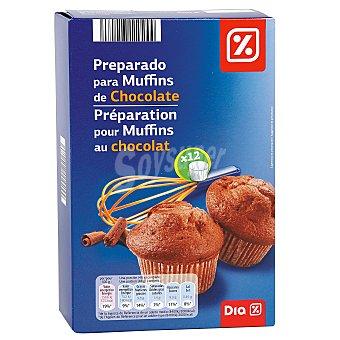 DIA Preparado para muffins chocolate Caja 300 gr