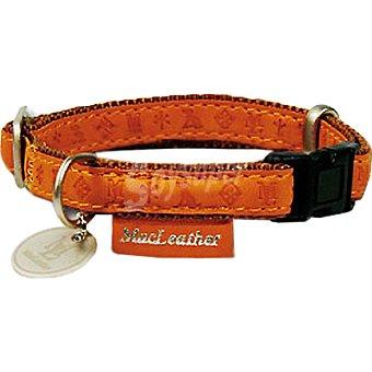 Nayeco Coleccion Macleather collar para perro piel marron medidas 48-70 cm x 25 CM 1 unidad 1 unidad
