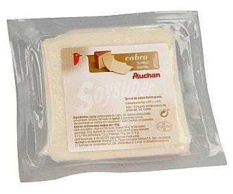 Auchan Queso de cabra tierno 950 gramos aproximados