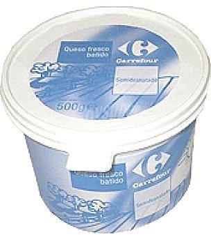Carrefour Queso fresco batido 20% M.G. 500 g