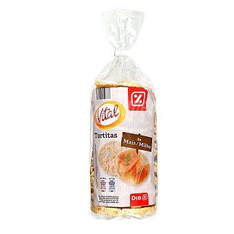 DIA Vital Tortitas de maíz Paquete 130 gr