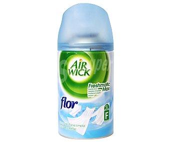 Air Wick Recambio automático con esencia flor, frescor de ropa limpia Freshmatic 1 unidad