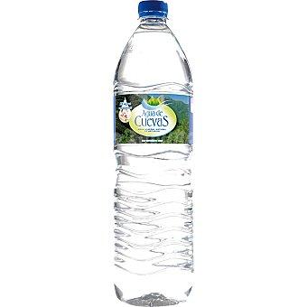 Agua de Cuevas Agua Mineral Natural Botella 1,5 litros