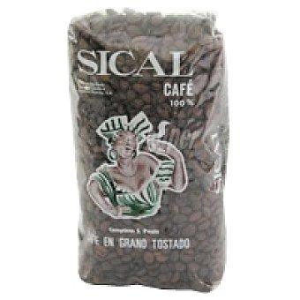 Sical Café en grano natural Paquete 500 g