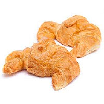 Croissant de margarina recto Bandeja 4 unid