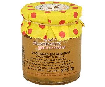 Al Andalus Castañas en almíbar 275 gramos