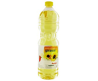 Auchan Aceite de girasol Botella de 1 l