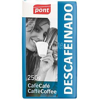Pont Café Descafeinado Molido Paquete 250 g
