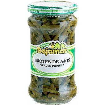 Bajamar Brotes de ajos verdes Frasco 160 g neto escurrido