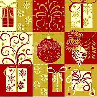 PAP STAR servilletas Christmas Symbols 3 capas 33x33 cm  paquete 20 unidades