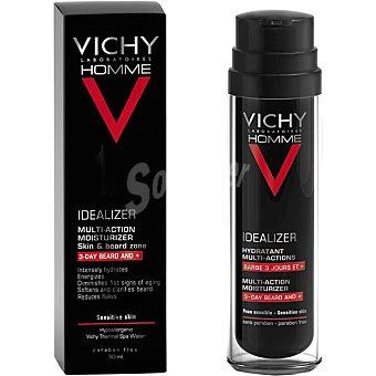 Vichy Homme Idealizer fluido hidratante multi-acción para piel y barba de 3 días o más frasco 50 ml Frasco 50 ml