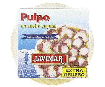 Javimar Pulpo en aceite vegetal extra grueso, 2 latas de 165 gr 2x165g