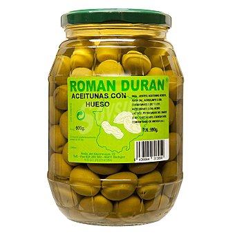 Román Durán Aceitunas verdes con hueso 800 g