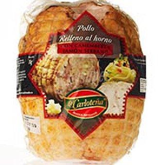 La Carloteña Pollo relleno de camember-jamón serrano 1 kg
