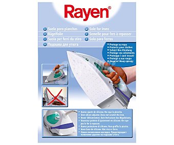 Rayen Suela de teflón para planchas, evita que los tejidos se quemen o manchen rayen