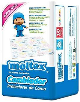 Moltex Protector de cama Pocoyo cambiador 60x60 cm bolsa 10 unidades