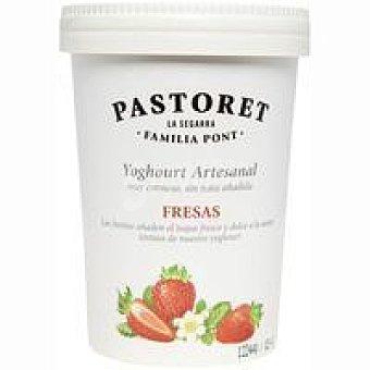 El Pastoret Yogur con fresas Tarro 500 g