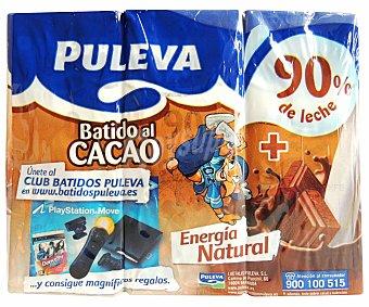 Puleva Batido de cacao con cereales Pack 6x200 ml