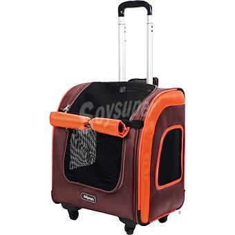 Fred & Rita Transportin para mascotas color marron hasta 8 kg medidas 40x31x40 cm 1 unidad 8 kg