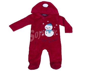 In Extenso Sobrepijama de bebe, color rojo, talla 80