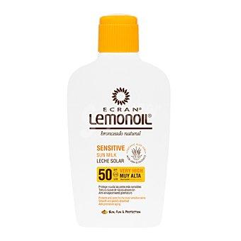 Ecran Aftersun Leche solar con aloe vera Sensitive FP 50 Lemonoil 200 ml
