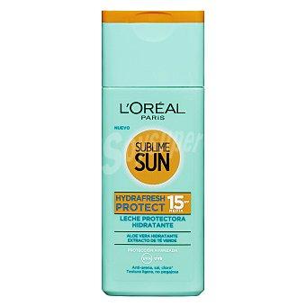 L'Oréal Protector solar corporal FPS 15 con alor y extracto de te Bote 200 ml