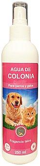 KRISLIN Colonia para perros y gatos (fragancia talco) Botella de 250 g