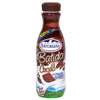 Central Lechera Asturiana Batido de cacao Botella 1 litro
