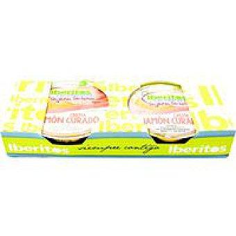 HUERTA DEHESA Crema de jamón sin lactosa 2x50 g