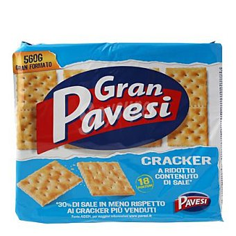 Gran Pavesi Crackers sin sal 560 g