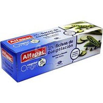 ALFAPAC Bolsa para congelar grande 30x45 cm Caja 25 unid
