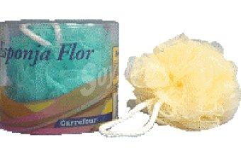 Carrefour Esponja de baño Flor 1 ud
