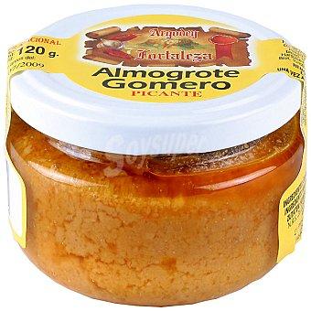 Argodey fortaleza Salsa de almogrote con queso picante frasco 120 g Frasco 120 g