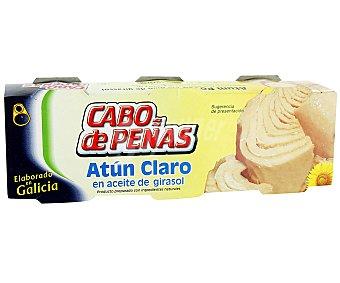 Cabo de Peñas Atún claro en aceite de girasol Lata de 52 grs