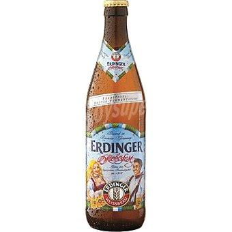 Erdinger Oktoberfest cerveza rubia alemana Botella 50 cl