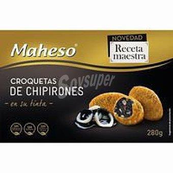 Maheso Croquetas de chipirones R. Maestra Caja 280 g