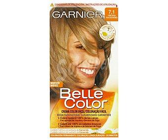 Belle Color Garnier Gel Color Fácil Rubio Ceniza Nº 7,1 1 Unidad