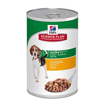 Hill's Science Plan Canine Puppy Lata de Pollo Lata 370 g