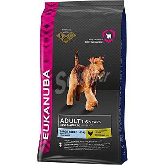 EUKANUBA ADULT LARGE BREED Alimento completo para perro adulto de razas grandes y gigantes con pollo bolsa 12 kg Bolsa 12 kg