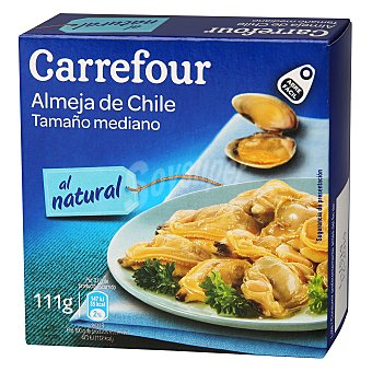 Carrefour Almejas chile natural 63 g