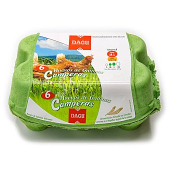 Dagu Huevos Camperos Estuche 6 ud