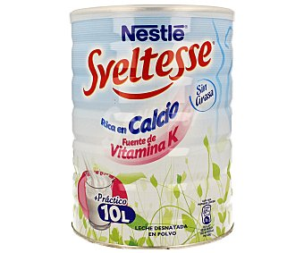 Sveltesse Nestlé Leche Desnatada en Polvo con Bifudus y Calcio 1kg