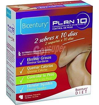 Bicentury Complemento Plan 10 20 sobres
