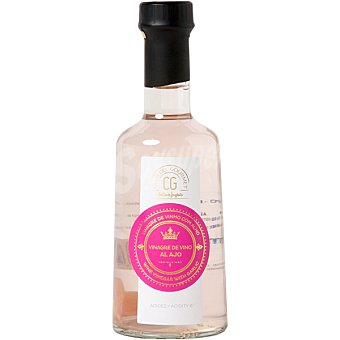 Club del gourmet Vinagre de vino al ajo botella 250 ml botella 250 ml