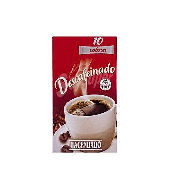 Hacendado Café soluble descafeinado 10 sobres de 20 g