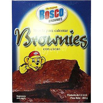 BOSCO Harina para cocinar brownies Estuche 454 g