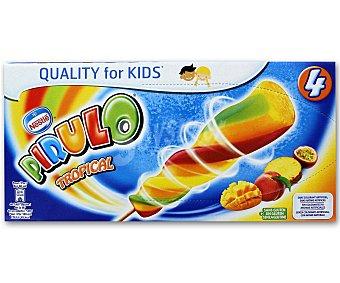 Nestlé Helado Pirulo Tropical 4 Unidades de 80 Mililitros