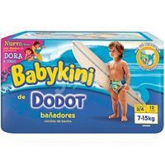 DODOT Babykini Bañador Talla 3-4 Paquete 12 unid