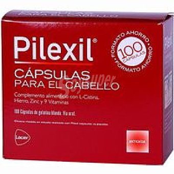 PILEXIL Cápsulas anticaídas forte Caja 100 unid